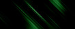 Leinwandbild Motiv Background black and green dark are light with the gradient is the Surface with templates metal texture soft lines tech gradient abstract diagonal background silver black sleek with gray.