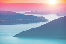 Beautiful Evening Landscape. R...