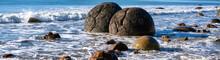 Moeraki Boulders Otago Coast NZ