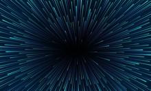 Vector Speed Of Light Illustra...