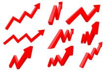 Financial Indication Arrows. U...