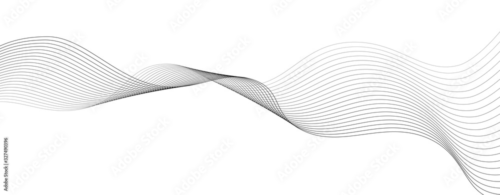 Fototapeta abstract background with business lines