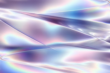 明るい透明感の美しいピンク配色のメタリックなアブストラクト