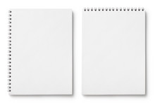 Set Of Blank Notepads, Isolate...