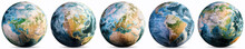 Planet Earth - Europe, America...