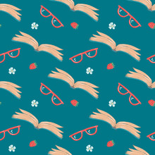 Seamless Pattern For Blog Of W...