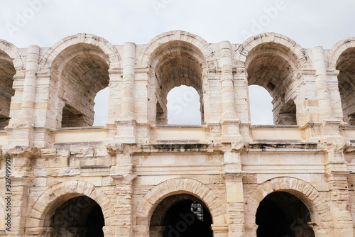 The Arles Amphitheatre, Roman amphitheatre in the southern French town of Arles Wallpaper Mural