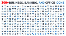 Set Vector Business, Banking A...