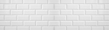 White Light Brick Tiles Wall T...