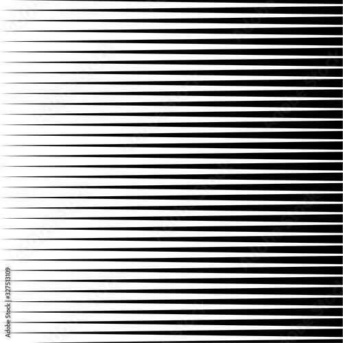 Abstract oblique black lines Wallpaper Mural