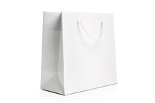 Shopping Bag, Isolated Against...