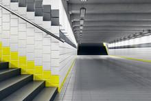 Minimalistic Subway Station Wi...