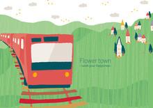 電車と花街