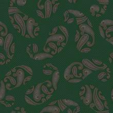 Seamless Pattern Of A Beautifu...