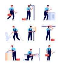 Plumbers. Fixing Plumbing, Hou...