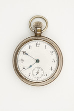Silver Pocket Watch That Is Ol...