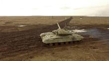 Tank Company Drills,T-64 Tank On The Battlefield