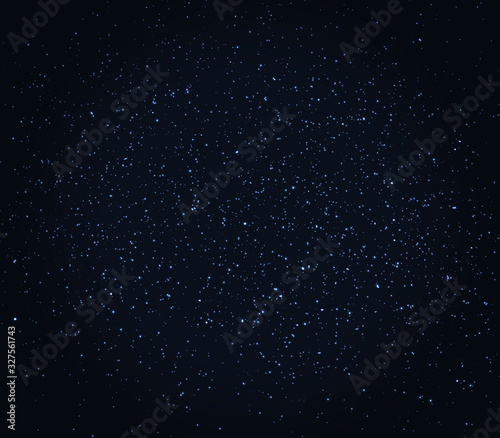Fotografie, Obraz Space Stars Background. Vector Illustration