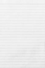Blank Notebook Sheet Of Paper