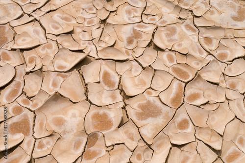 Vor Trockenheit gebrochener Boden - Bardenas Reales Canvas Print