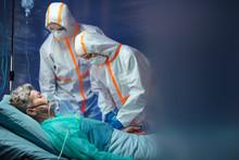 Infected Patient In Quarantine...