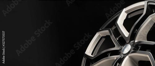 aluminum alloy wheel Canvas Print