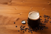 Craft Beer Coffee Stout In A G...