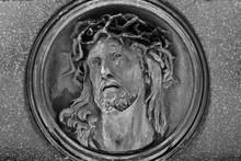Jesus Mit Dornenkrone - Grabs...