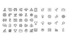 Start Up Thin Line Series Icon...