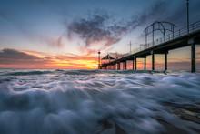 Sunset At Brighton Jetty, Adel...