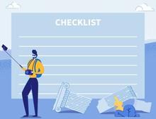 Checklist, Journey Planner, Re...