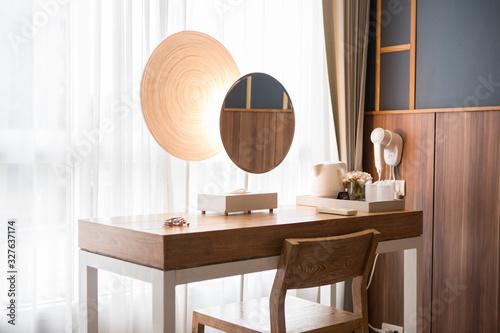 Fotografia modern design dressing table