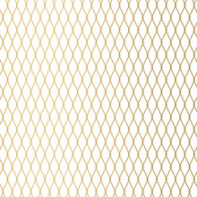 Golden Metal Wire Fence Backgr...
