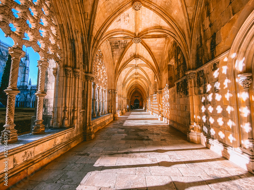Batalha Monastery in Portugal Canvas Print