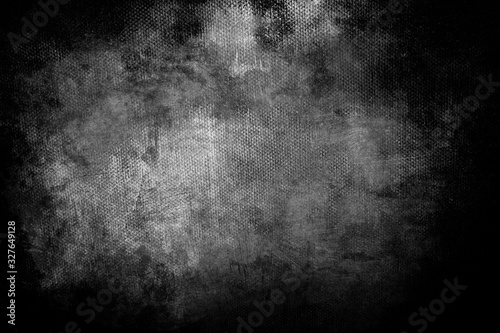 Fototapeta  grunge background or texture, black and white obraz