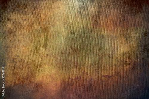 Tablou Canvas grunge background on canvas texture