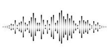 Vector Sound Waves Stylized Wi...