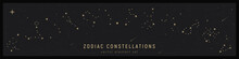 Set Of Zodiac Constelattions. ...
