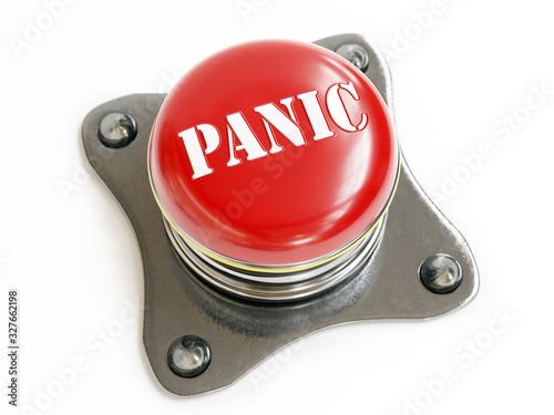 Photo Red Panic pushbutton