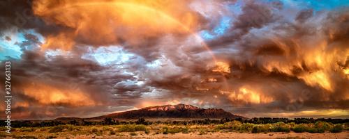 Photo Thunderstorm Over Sandias