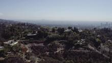 Wide Aerial, Mountain Landscap...