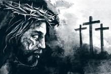 Easter. Jesus Christ, Son Of G...