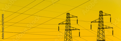 Photo Electric power industry