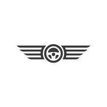 Car Steering Wheel With Wings ...