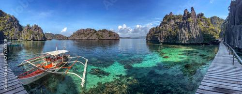 Photo Twin Lagoon in coron island, Palawan, Philippines