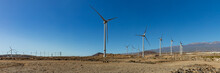 Super Wide Panorama Of Wind Po...