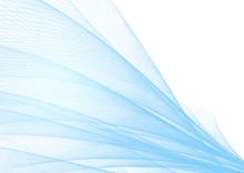 抽象的な青い波の背景