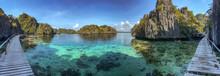 Twin Lagoon In Coron Island, P...