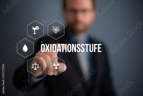 Oxidationsstufe Canvas Print