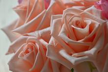 Beautiful Orange Rose Gold Flo...